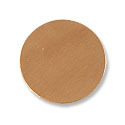 Copper Round 24 Gauge Blank 1/2 Inch