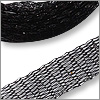 Metallic Ribbon 6mm x 1 meter Black