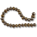 Freshwater Potato Pearl Pewter/Copper Mix 6-7mm (16