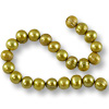 10 Strands of Freshwater Potato Pearls Gold 7-8mm (16