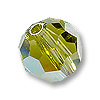 Swarovski 5000 6mm Khaki AB Round Bead (1-Pc)
