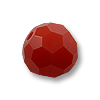 Swarovski Round Crystal Bead 5000 4mm Dark Red Coral (6-Pcs)