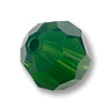 Swarovski Round Crystal Bead 5000 6mm Palace Green Opal (6-Pcs)