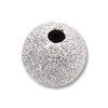 Stardust Beads 5mm Sterling Silver (1-Pc)