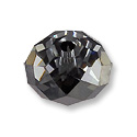 Swarovski Briolette Bead 5040 12x7.5mm Crystal Silver Night (1-Pc)