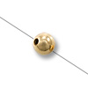 Gold Filled Round Smart Bead 3mm (1-Pc)