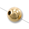 Gold Filled Round Smart Bead 7mm (1-Pc)