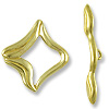 Clasp - Toggle 15mm Brass (Set)
