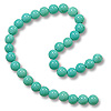 Simulated Turquoise Beads 4mm (16