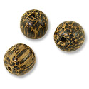 Taad Wood Beads 14mm Round (6-Pcs)