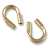 Gold Filled Wire Protector Guard .50mm Hole (2-Pcs)
