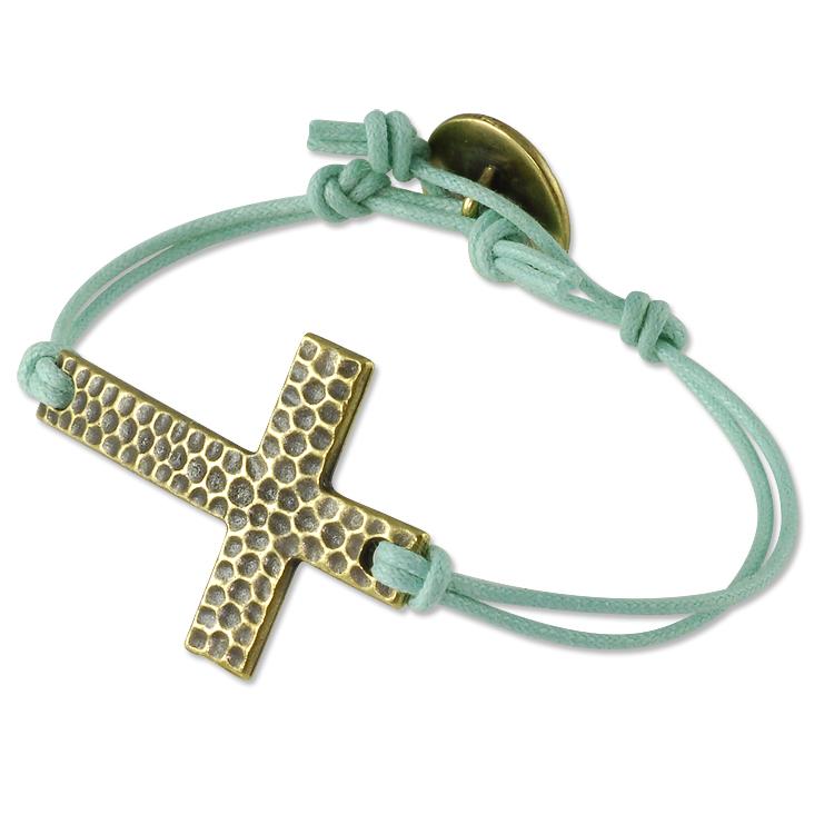 Cross Wrap Bracelet Project
