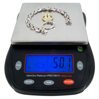 GemOro Counter-Top Gram Scale (1000 Gram)