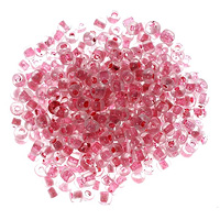 Seed Bead Inside Color 6/0 Red (Ounce)