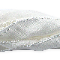 White Silky Ribbon (42 Inches)