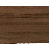 Brown Silky Ribbon (42 Inches)