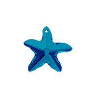 50 off sale on swarovski crystal starfish pendant 6721 at swarovski crystal starfish 6721 16mm bermuda blue 1 pc aloadofball Gallery