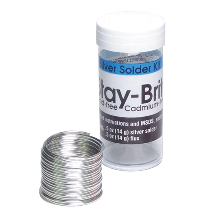 Solder Stay Brite With Flux Low Temp Soldering Jewelry