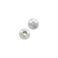 Round Bead 2.5mm Sterling Silver (10-Pcs)