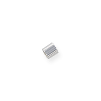 Seamless Crimp Tube Beads 1x1mm Sterling Silver (10-Pcs)