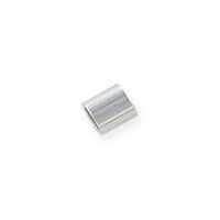 Seamless Crimp Tube Bead 2x2mm Sterling Silver (10-Pcs)