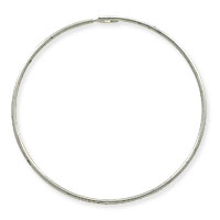 Sterling Silver Beading Hoops 21 Gauge 1 Inch (1-Pc)
