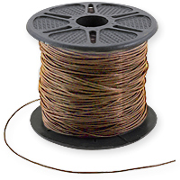Leather Cord 0.5mm Nautral (Priced Per Yard)