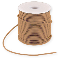Leather Cord Natural 1.5mm (25 Yard Pack)