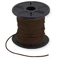 Leather Cord Brown 1mm (Priced per Yard)