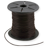 Leather Cord 1mm Brown (Priced Per Yard)