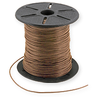 Leather Cord 1mm Natural (Priced Per Yard)