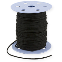 Ultra Micro Fiber Suede Cord Black 2mm (Priced Per Yard)