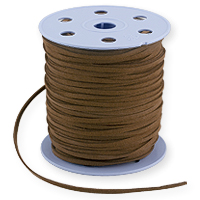 Ultra Micro Fiber Suede Cord Brown 3mm (Priced Per Yard)