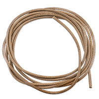 Griffin Natural Leather Cord 1.3mm (1 Yard)