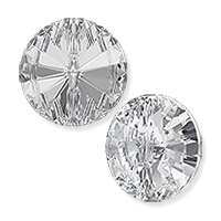Swarovski Button 3015 10mm Crystal with Foil Back (1-Pc)