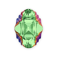 Swarovski Crystal 4926 Oval Tribe Fancy Stone 14x10mm Peridot Scarabaeus Green (1-Pc)