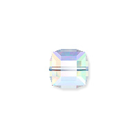 Swarovski 5601 4mm Crystal AB Cube Bead (1-Pc)