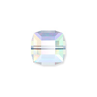 Swarovski 5601 6mm Crystal AB Cube Bead (1-Pc)