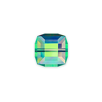 Swarovski 5601 6mm Crystal Vitrail Medium Cube Bead (1-Pc)