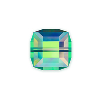Swarovski 5601 8mm Crystal Vitrail Medium Cube Bead (1-Pc)