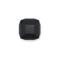 Swarovski Crystal 5601 6mm Jet Cube Bead (1-Pc)