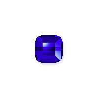 Swarovski Crystal 5601 4mm Majestic Blue Cube Bead (1-Pc)