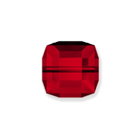 Swarovski Crystal 5601 8mm Siam Cube Bead (1-Pc)