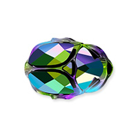 Swarovski 5728 Scarab Bead 12mm Crystal Scarabaeus Green 2X (1-Pc)