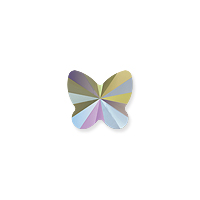 Swarovski Crystal Butterfly Bead 5754 6mm Crystal Paradise Shine (1-Pc)