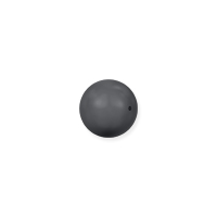 Swarovski 5810 2mm Dark Grey Round Crystal Pearl (10-Pcs)