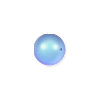 Swarovski 5810 4mm Iridescent Light Blue Round Crystal Pearl (10-Pcs)
