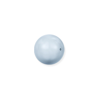 Swarovski 5810 4mm Light Blue Round Crystal Pearl (10-Pcs)