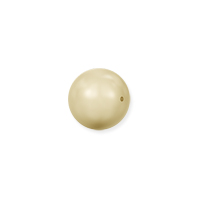 Swarovski 5810 4mm Light Gold Round Crystal Pearl (10-Pcs)