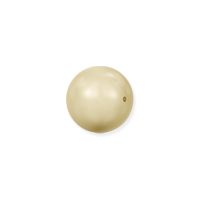 Swarovski 5810 5mm Light Gold Round Crystal Pearl (10-Pcs)